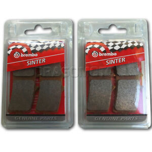 BREMBO Motorcycle 4 Brake pads M4 Genuine Compound Front Discs