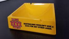 Castlemaine Xxxx Australia Draft Lager Melamine Ashtray: Excellent & Unused
