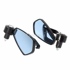 Anti Glare Black Motorcycle Handle Bar End Rearview Side Mirrors For Confederate