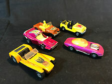 Matchbox Corgi Diecast Toy LOT Hot Rod Jeep CJ-6 Woosh Lotus Super Seven
