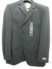 Three Button Blazers Pinstripe Suits & Tailoring for Men