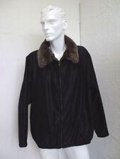 BRAND NEW MEN MAN MEN'S REVERSIBLE CLOTH TO WALLABY KANGAROO FUR COAT JACKET 48