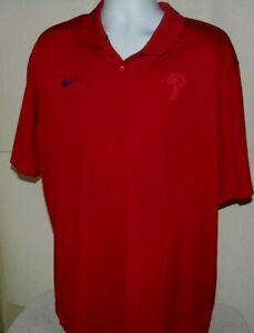 Nike Men's Dri-Fit Shirt Size XXL Philadelphia Phillies Nike Baseball