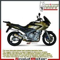 Mivv Exhaust Mufflers Suono Stainless Steel for Yamaha Tdm 900 2002 > 2014