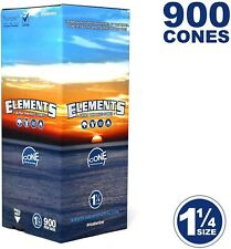 Elements 900 1 1/4 Rice Cones - Natural Unbleached Unrefined Rolling Papers