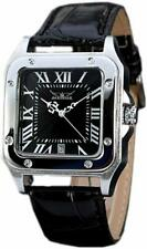 Gute Man Watch Square Shaped Men Automatic Mechanical Wristwatch with Black Dial