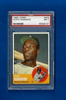 1963 TOPPS BASEBALL #405 FLOYD ROBINSON PSA 7 NM CHICAGO WHITE SOX