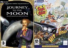 Viaje A La Luna & Sam + Max Hit the Road & Noche Del Conejo Nuevo y Sellado