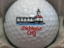 (1) Michigan City United States Logo Golf Ball