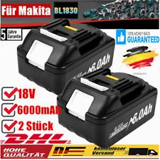 2× 18V 6 AH Für Makita Original Ersatzakku BL1850 LXT Li-ion BL1860 BL1830 ACCU
