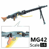 """1:6 1/6 Scale MG42 Assemble Machine Gun Weapon  Fit 12"""" Action Figures MG Model"""