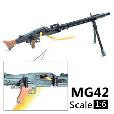 "1:6 1/6 Scale MG42 Assemble Machine Gun Weapon  Fit 12"" Action Figures MG Model"