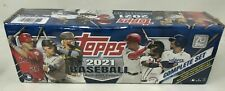 2021 Topps baseball factory sealed complete Retail Set NEW