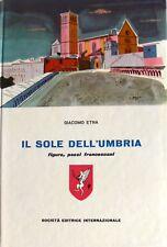 GIACOMO ETNA IL SOLE DELL'UMBRIA: FIGURE, PAESI, FRANCESCANI SEI 1960