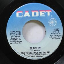 Hear! Funk 45 Brother Jack Mcduff - Black Is! / Win, Lose Or Draw On Cadet