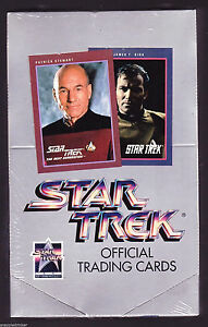 Star Trek Series 1 Trading Card Box New Factory Sealed 1991 Impel Amricons