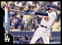 2020 Topps Series 2 Base Black #564 Matt Beaty /69 - Los Angeles Dodgers