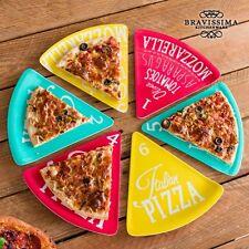 Melamingeschirr Pizzateller 6 Teile Melamin Pizza Teller Campinggeschirr