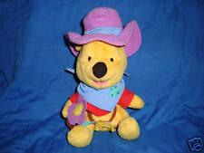"Winnie the Pooh dress as Cowboy Fisher Price Star Bean 7"" Plush"