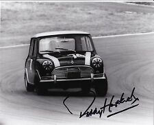 Paddy Hopkirk Hand Signed 10x8 Mini Photo 1964 Brands Hatch.