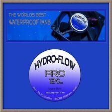 """120mm """"Severe Duty"""" Waterproof Fan kit w/ speed cont. DIY Humidifier hydroponics"""