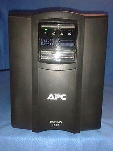 APC Smart UPS SMT1500I, 1500VA / 980W, generalüberholt, neue Akkus, wie neu!!