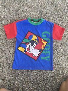"""Vintage Disney  Shirt """"Goofy"""" Boys Size 5/6"""