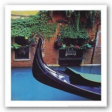 TRAVEL PHOTO ART PRINT Gondola by John Xiong