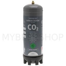 DISPOSABLE 2.2L FOOD GRADE CARBON DIOXIDE CO2 GAS BOTTLE HOME BREW BEER AQUARIUM