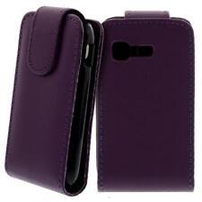 Pour Samsung Galaxy Poche GT-S5300 à Clapet Étui Housse COQUE Protectrice Mauve