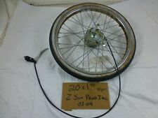 Vintage Bicycle / Tricycle Front Wheel/Tire 20