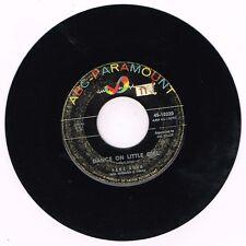 """ABC 45-10220 Paul Anka Dance On Little Girl / I Talk To You 7"""" G+/G+"""