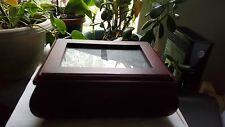 """Men's Jewelry Box-Personalize with Your Own Photograph-3-1/2""""T x 8"""" W x 6"""" D"""