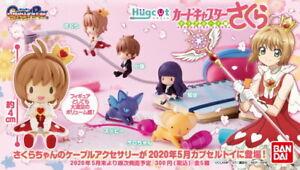 Bandai Hugcot Cardcaptor Sakura Clear Card P1 Completed Set 5pcs