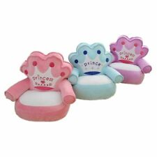 Baby Bean Bag Cover No Filling Cartoon Crown Seat Sofa Plush Babies Chair Covers