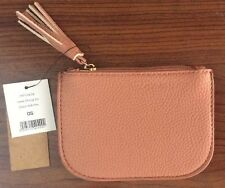 1 x Coin Purse Soft Pink 1 Zipped Pocket Cotton On NEW Tags Attached