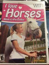 I Love Horses: Rider's Paradise (Nintendo Wii, 2011) Brand New