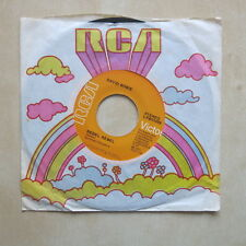 """DAVID BOWIE Rebel Rebel / Queen Bitch USA 7"""" in company sleeve RCA 1973 Ex+"""