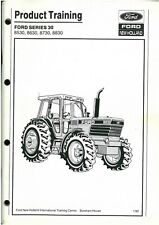 Ford New Holland Tractor 8530 8630 8730 8830 Product Training Manual