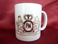 Vintage Philip Morris Coffee Mug with Gold Logo Pc