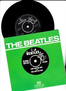 """THE BEATLES SINGLES COLLECTION -CAN'T BUY ME LOVE R5114  7"""" VINYL 45"""