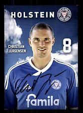 Christian Jürgensen Autogrammkarte Holstein Kiel 2011-12 Original Sign+A 131669