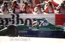 Michael Schumacher Jordan 191 belga Grand Prix 1991 fotografía 3