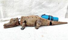 1950s Vintage Batterie Fonctionne Crocodile Télécommandé Boite Jouet Rare Japon