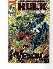 Incredible Hulk vs Venom 1 (1994, Red Foil & Embossed cover, Rare Edition)