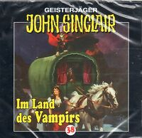 JOHN SINCLAIR - Teil 38 - Im Land des Vampirs - AUDIO CD - NEU OVP