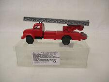 MES-65878modelltec 1:87 Magirus Feuerwehr,Aufbau lose sonst sehr guter Zustand