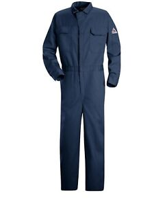 Bulwark EXCEL FR® 9 oz Deluxe Coverall Navy CED2NV50-LN