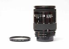 Nikon AF Nikkor 28-85mm  1:3.5-4.5 + UV Filter Nr.34