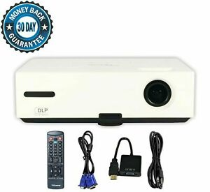 Optoma ES522 DLP Projector 2800 ANSI HD 1080p HDMI-adapter w/Accessories bundle